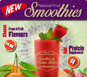 Freshly made Smoothies