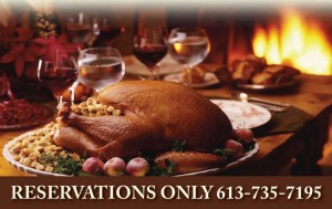 Join us for Turkey Dinner at Westwinds