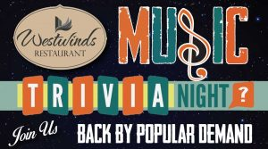Music Trivia Night is Back by Popular Demand