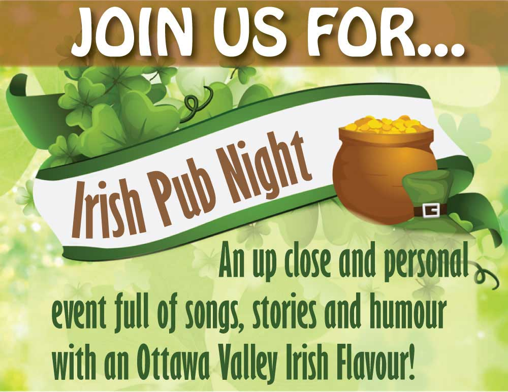 Join Us for Irish Pub Night in Pembroke