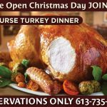 Join Us on Christmas Day for a 3 course Turkey Dinner