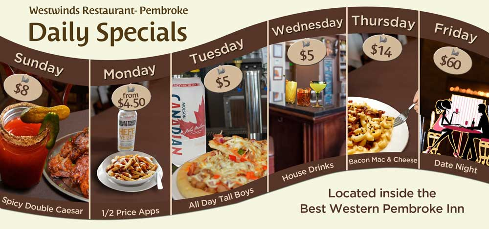 Wednesday family dinner specials