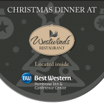 Ho ho ho it's a Christmas Dinner at Westwinds