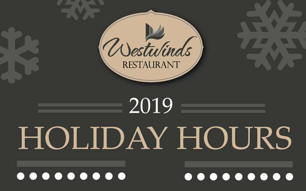 2019 Holiday Hours