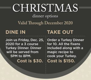 Christmas Turkey Dinner Options