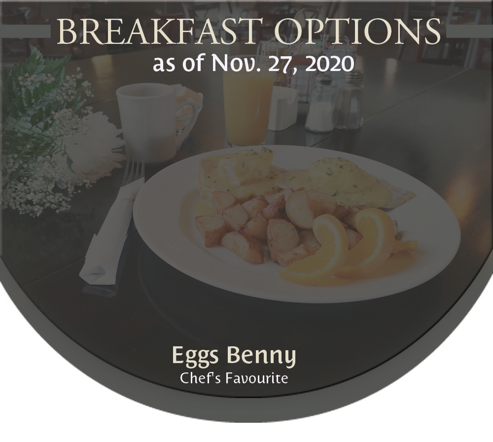 2019 Breakfast Menu
