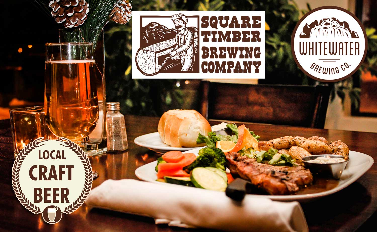 Try our Local Craft Beer